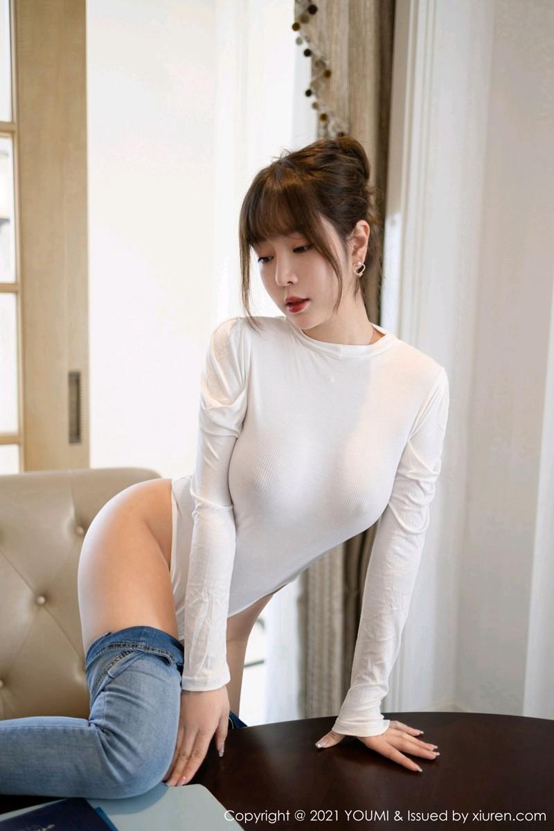 [YOUMI尤蜜荟] 2021.03.03 VOL.608 王雨纯 性感女神 [58+1P] -第3张
